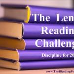 2016 Lenten Reading Challenge
